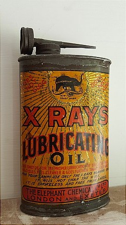 X RAYS LUBRICATING OIL - click to enlarge
