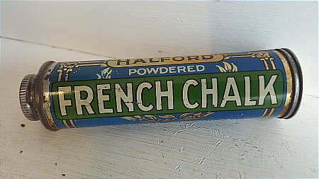 HALFORD'S FRENCH CHALK - click to enlarge