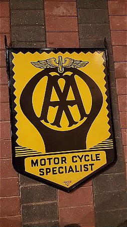 A.A. MOTOR CYCLE  - click to enlarge
