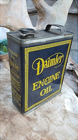 DAIMLER ENGINE OIL GALLON CAN. - click to enlarge