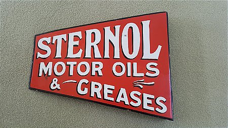 STERNOL OILS - click to enlarge