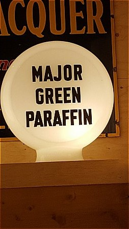 MAJOR'S GREEN PARAFFIN - click to enlarge