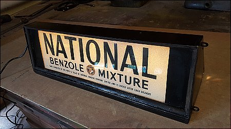 NATIONAL BENZOLE LIGHTBOX - click to enlarge