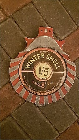 SHELL (WINTER) PRICE HOLDER - click to enlarge