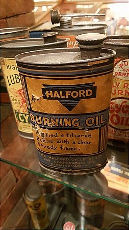 HALFORD'S BURNING OIL - click to enlarge
