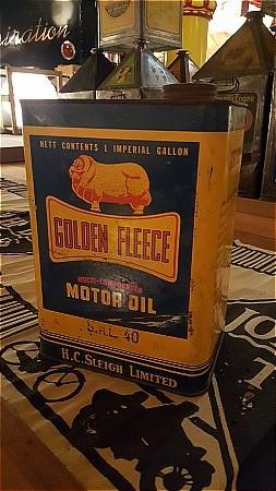 GOLDEN FLEECE GALLON CAN. - click to enlarge