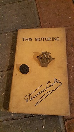 """A.A. """"THIS MOTORING"""" BOOK. - click to enlarge"""