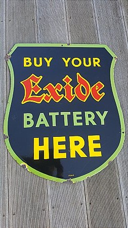 EXIDE BATTERIES - click to enlarge