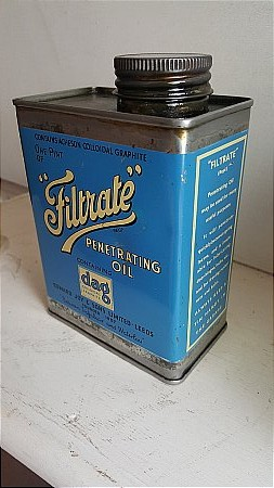 FILTRATE PENETRATING OIL - click to enlarge