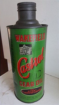 CASTROL GEAR OIL QUART - click to enlarge