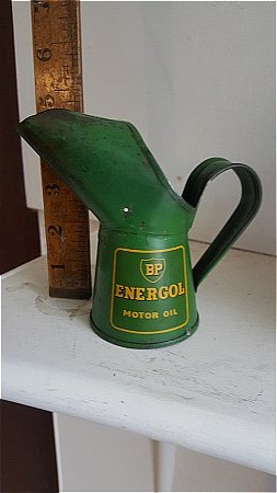 TINY BP ENERGOL POURER - click to enlarge