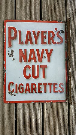 PLAYERS NAVY CUT CIGARETTES - click to enlarge