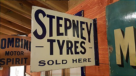 STEPNEY TYRES - click to enlarge
