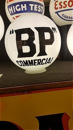 B.P. COMMERCIAL BALL GLOBE - click to enlarge