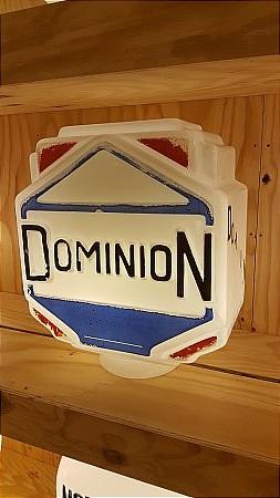 DOMINION ART-DECO GLOBE - click to enlarge