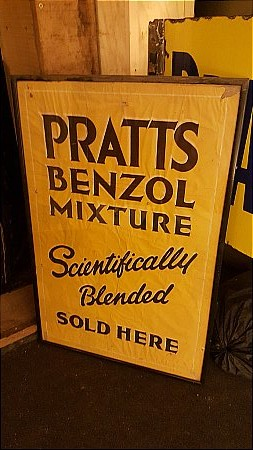 PRATTS BENZOL POSTER - click to enlarge