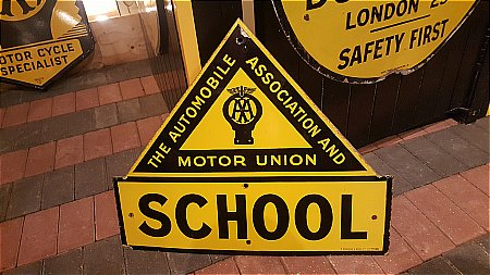 A.A. SCHOOL SIGN. - click to enlarge