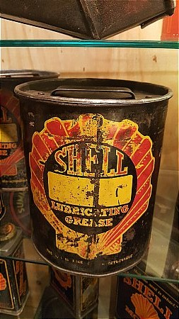 SHELL BULK LARGE GREASE CAN - click to enlarge