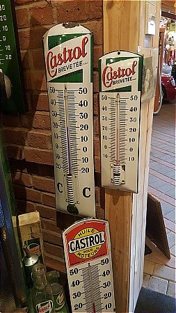 CASTROL (Small) THERMOMETER - click to enlarge