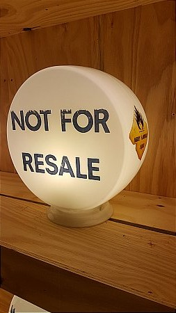 NOT FOR RESALE GLOBE - click to enlarge