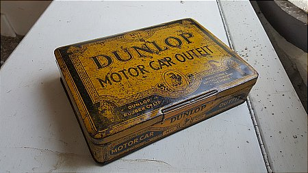 DUNLOP No.1 CAR TYRE REPAIR - click to enlarge