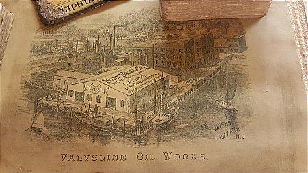 VALVOLINE OIL BROCHURE - click to enlarge
