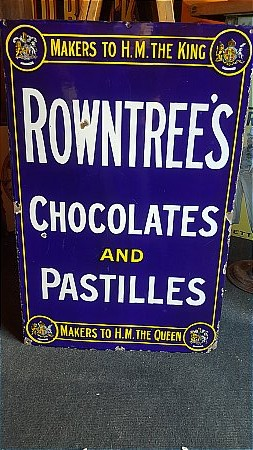 ROWNTREES CHOCOLATE - click to enlarge