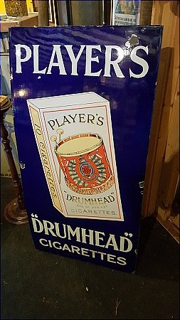 PLAYERS DRUMHEAD - click to enlarge