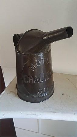 CHALLENGE OIL QUART POURER - click to enlarge