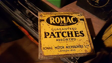 ROMAC MINI PATCH TIN. - click to enlarge