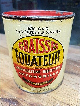 FRENCH GREASE TIN - click to enlarge