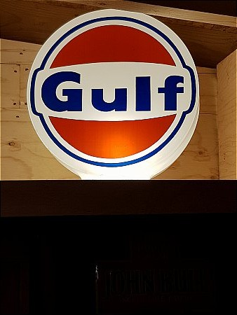GULF PLASTIC GLOBE - click to enlarge