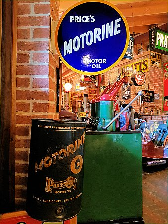 PRICES MOTORINE 5 GALLON CAN - click to enlarge