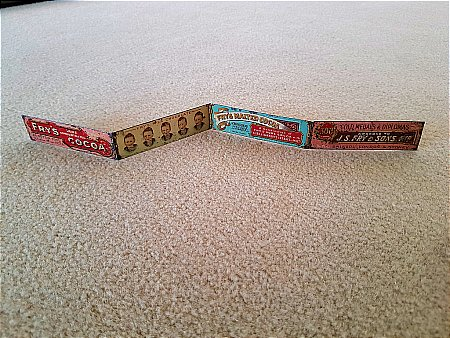 FRY'S FIVE BOYS RULER - click to enlarge