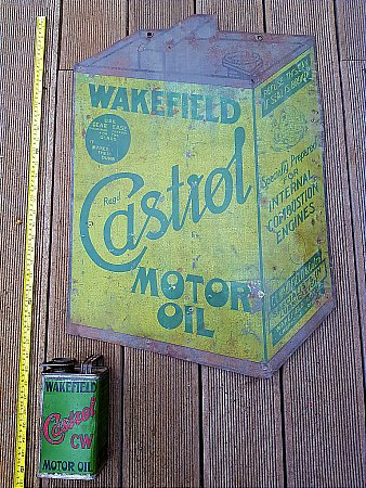 CASTROL MOTOR OIL (Tin) - click to enlarge