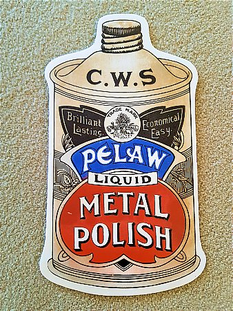 C.W.S. METAL POLISH - click to enlarge