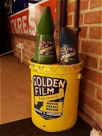GOLDEN FILM 28LB GREASE DRUM. - click to enlarge