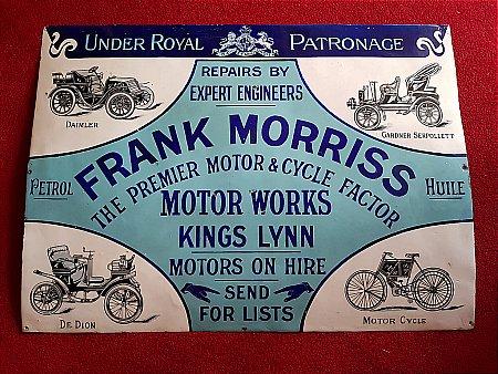 FRANK MORRIS'S MOTOR WORKS - click to enlarge