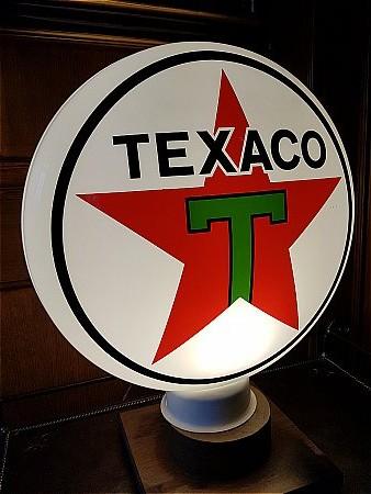 TEXACO PLASTIC GLOBE - click to enlarge