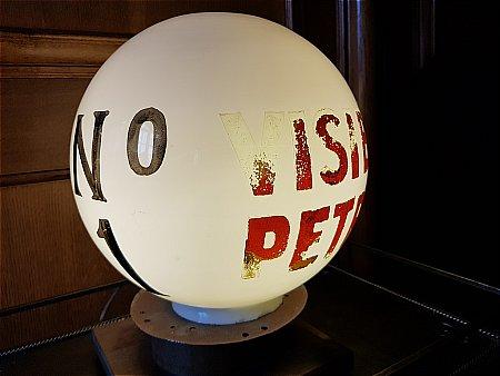 No.1 VISIBLE PETROL GLOBE. - click to enlarge
