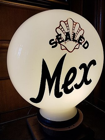SEALED SHELL MEX GLOBE - click to enlarge