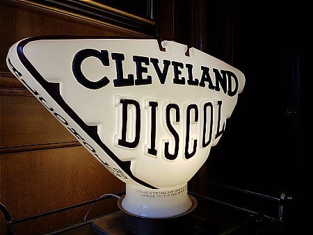 CLEVELAND DISCOL (Raised letter) - click to enlarge