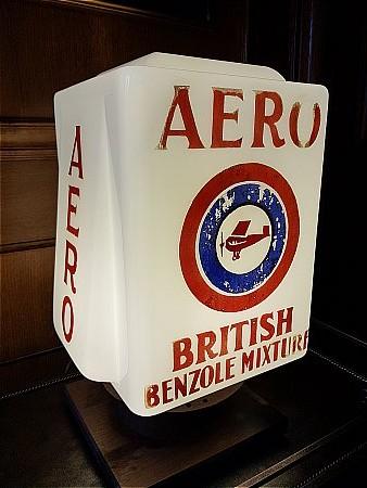 AERO BRITISH BENZOL GLOBE. - click to enlarge