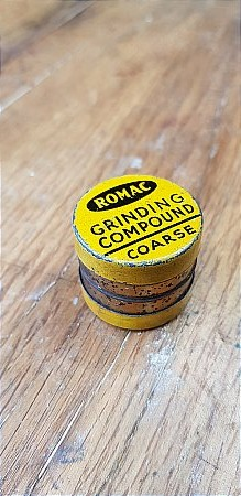 ROMAC GRINDING PASTE - click to enlarge
