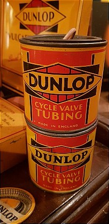 DUNLOP CYCLE VALVE TUBING - click to enlarge