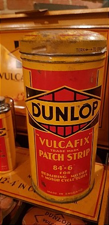 DUNLOP PATCH STRIP - click to enlarge