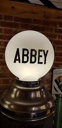 ABBEY PUMP GLOBE - click to enlarge