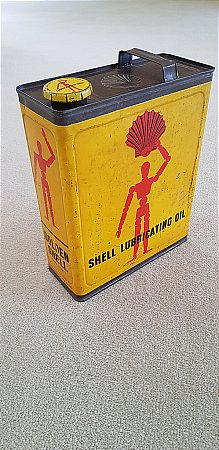 SHELL GOLDEN GALLON CAN - click to enlarge