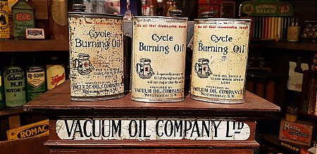 VACUUM CYCLE OIL - click to enlarge