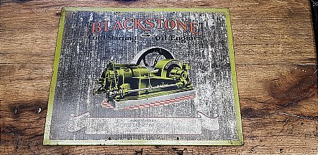 BLACKSTONE ENGINE SIGN - click to enlarge